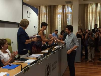 BIC Euronova gives a secondary prize to the VIEWTEE project in the University of Malaga's SPIN-OF Awards