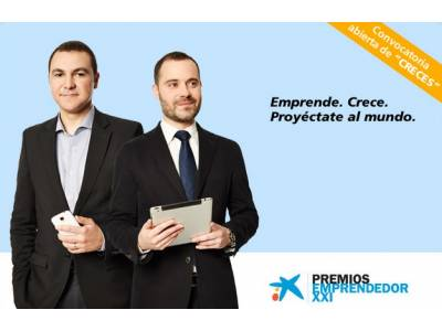 "Application period open for the ""CRECES"" category of the 8th edition of Emprendedor XXI Awards"