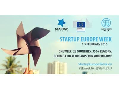 MÁLAGA START UP EUROPE WEEK  2 de Febrero en BIC EURONOVA