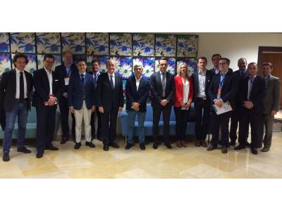 The Mayor of Malaga meets European Business and Innovation Centres Network (EBN) Board Members