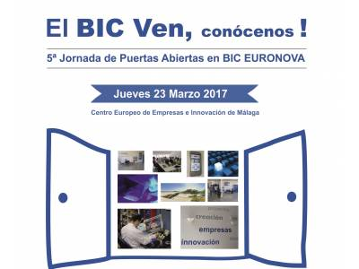 5th OPEN DAYS IN BIC EURONOVA, COME AND MEET US! On the 23rd of March of 2017
