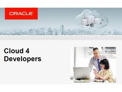 Jornada Cloud 4 Developers - 25 de Enero en Oracle