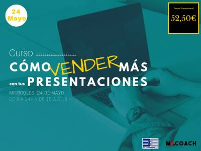 How to sell more on your presentations – 24th of May in BIC Euronova