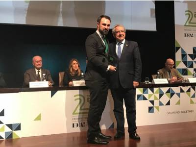 The PTA (Technological Park of Andalusia) grants recognition to BIC Euronova as founder of the IDEA association