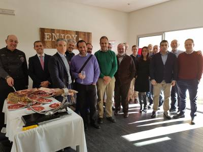 The Euronova Club celebrates the beginning of the year with its partners