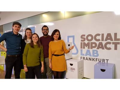 Know How exchange in Frankfurt's Social Innovation Centre