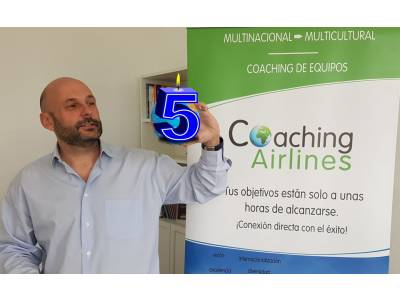 ¡Coaching Airlines cumple 5 años!