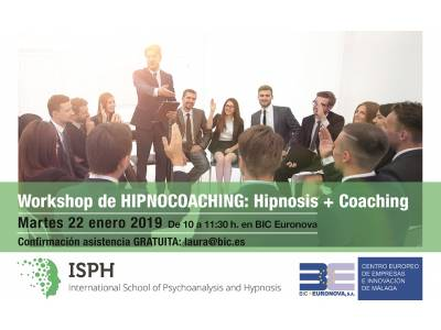 22 Enero WORKSHOP gratuito de HIPNOCOACHING - Fusión de Coaching+Hipnosis